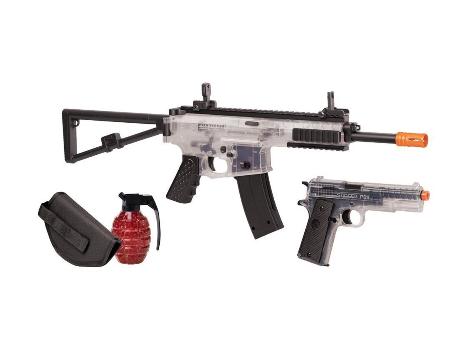 Crosman_AREKTC_Elite_Commando_Airsoft_Rifle_&_Pistol_Kit_6mm