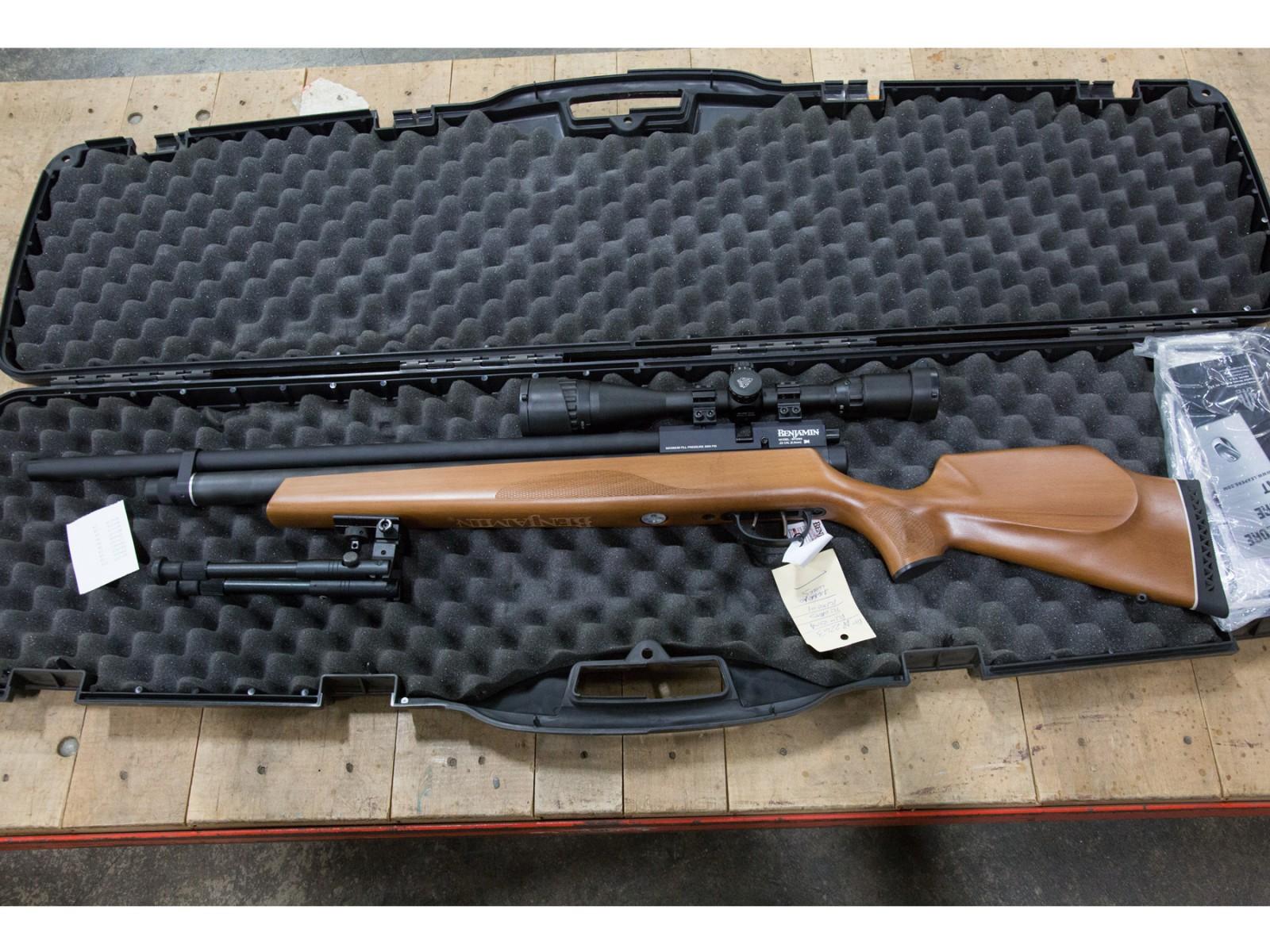 JB Benjamin Gen1 Marauder PCP Air Rifle Combo