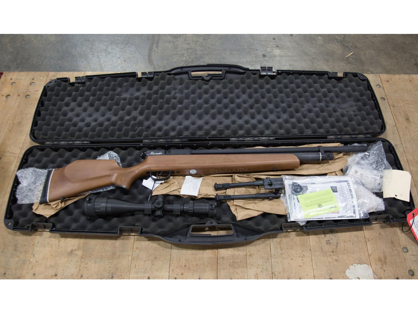 JB Benjamin Marauder PCP Air Rifle Combo