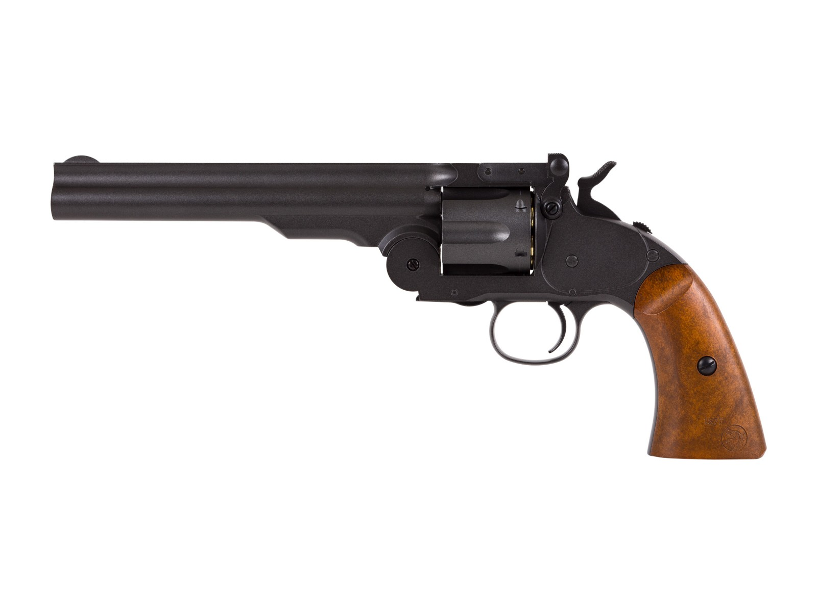 Cheap Schofield No. 3 CO2 BB Revolver, Full Metal 0.177