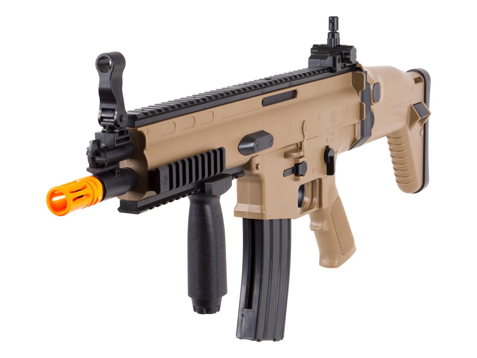 Cheap FN Herstal SCAR-L Spring Airsoft Rifle, Tan 6mm