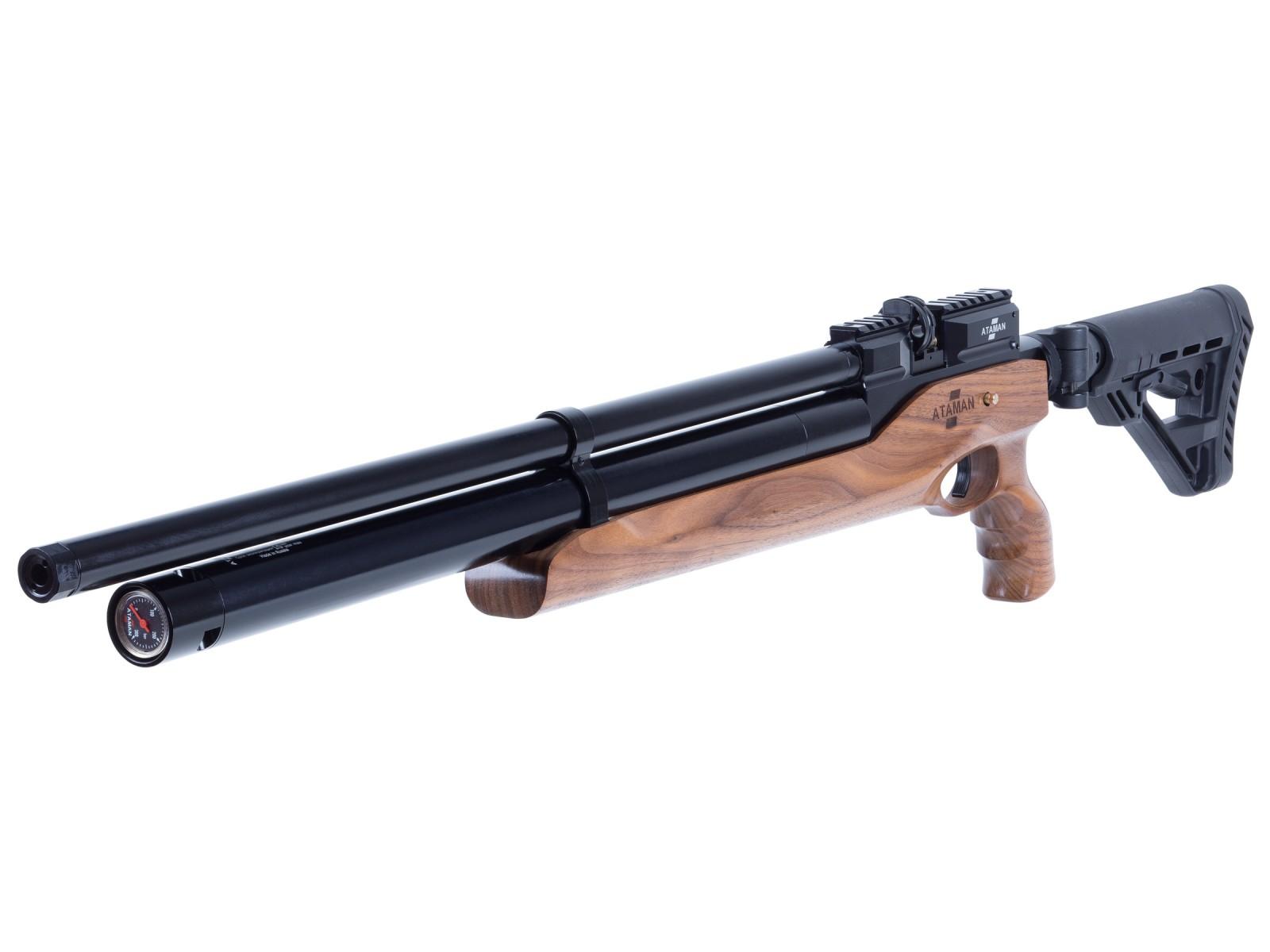 Ataman M2R Tact Carbine Type 4 Compact Air Rifle, Walnut