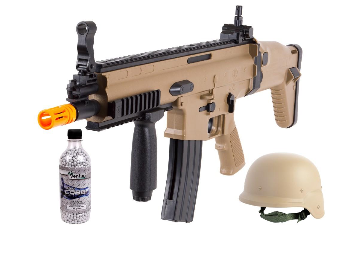FN_Herstal_SCARL_Spring_Airsoft_Rifle_Kit_Tan_6mm