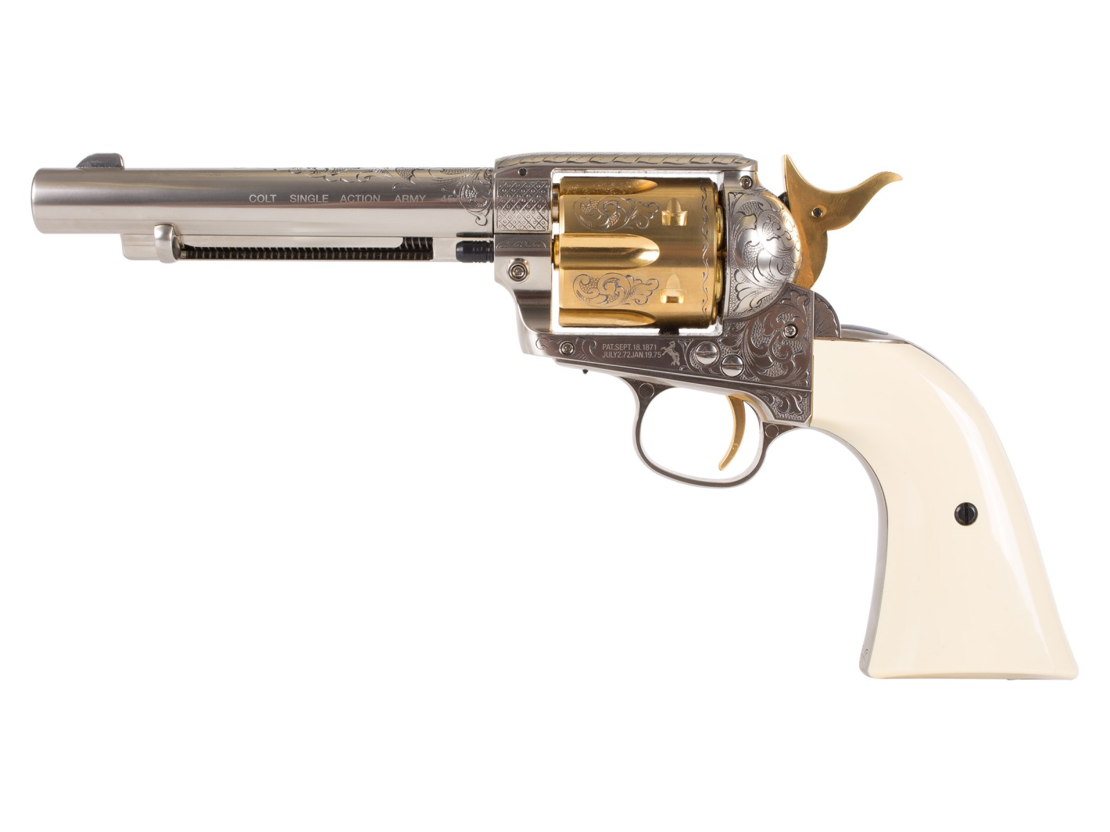 Limited Edition .177 caliber Nimschke Colt Peacemaker