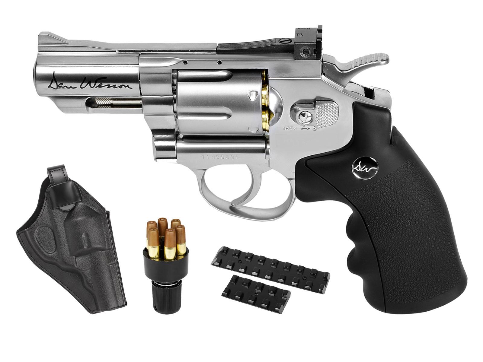 "Dan Wesson 2.5"" Barrel CO2 BB Revolver Kit"
