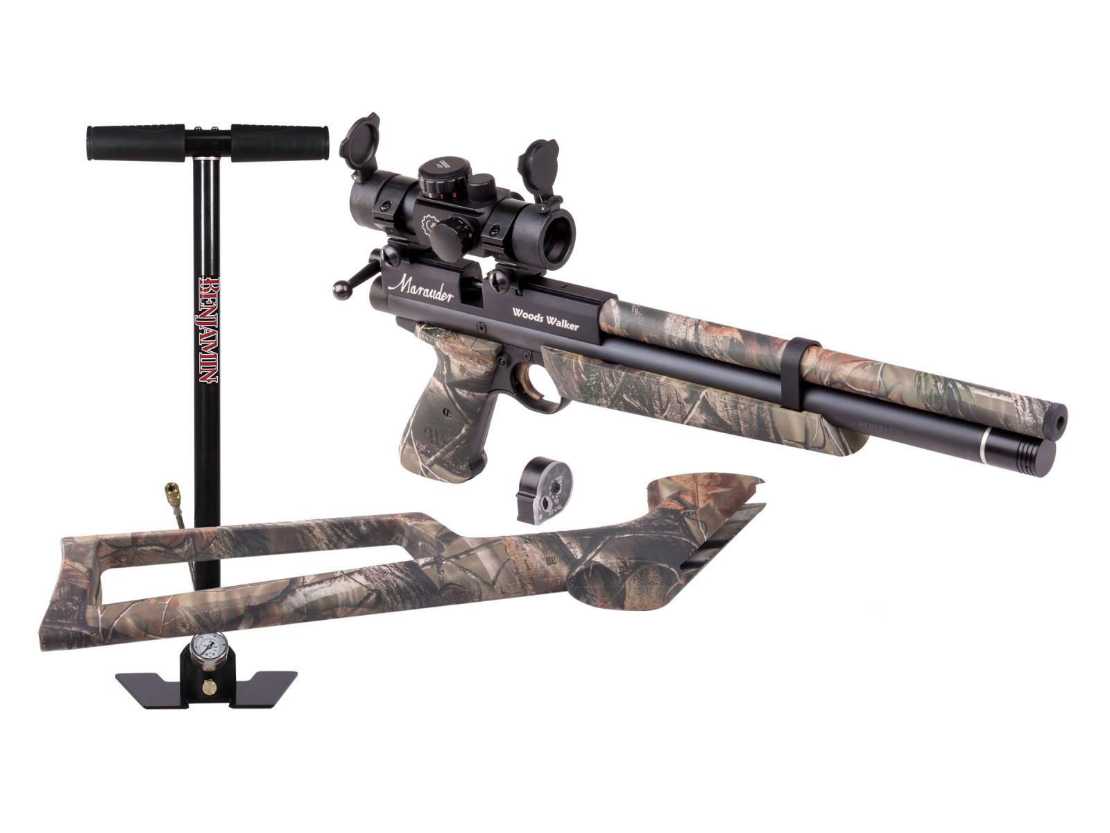 Benjamin Marauder Woods Walker Air Pistol Kit 0.22