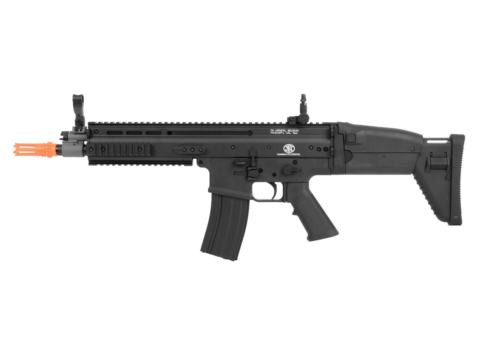FN_SCARL_Metal_AEG_Airsoft_Rifle_Black_6mm