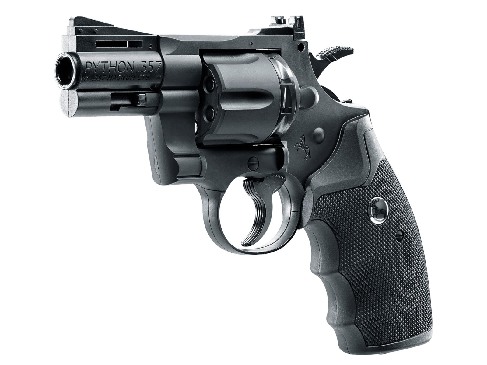"Colt Python 2.5"" .357 CO2 Pellet/BB Revolver"