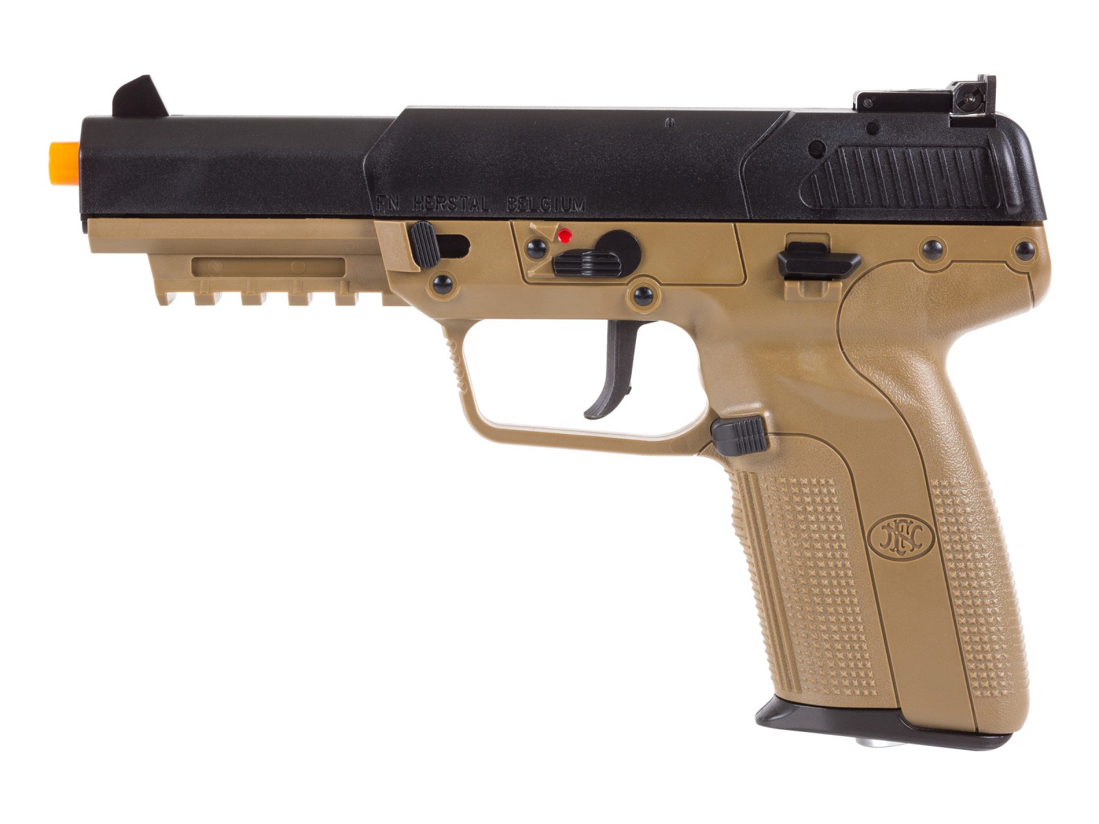 FN_Herstal_FiveSeven_CO2_Blowback_Airsoft_Pistol_TanBlack_6mm