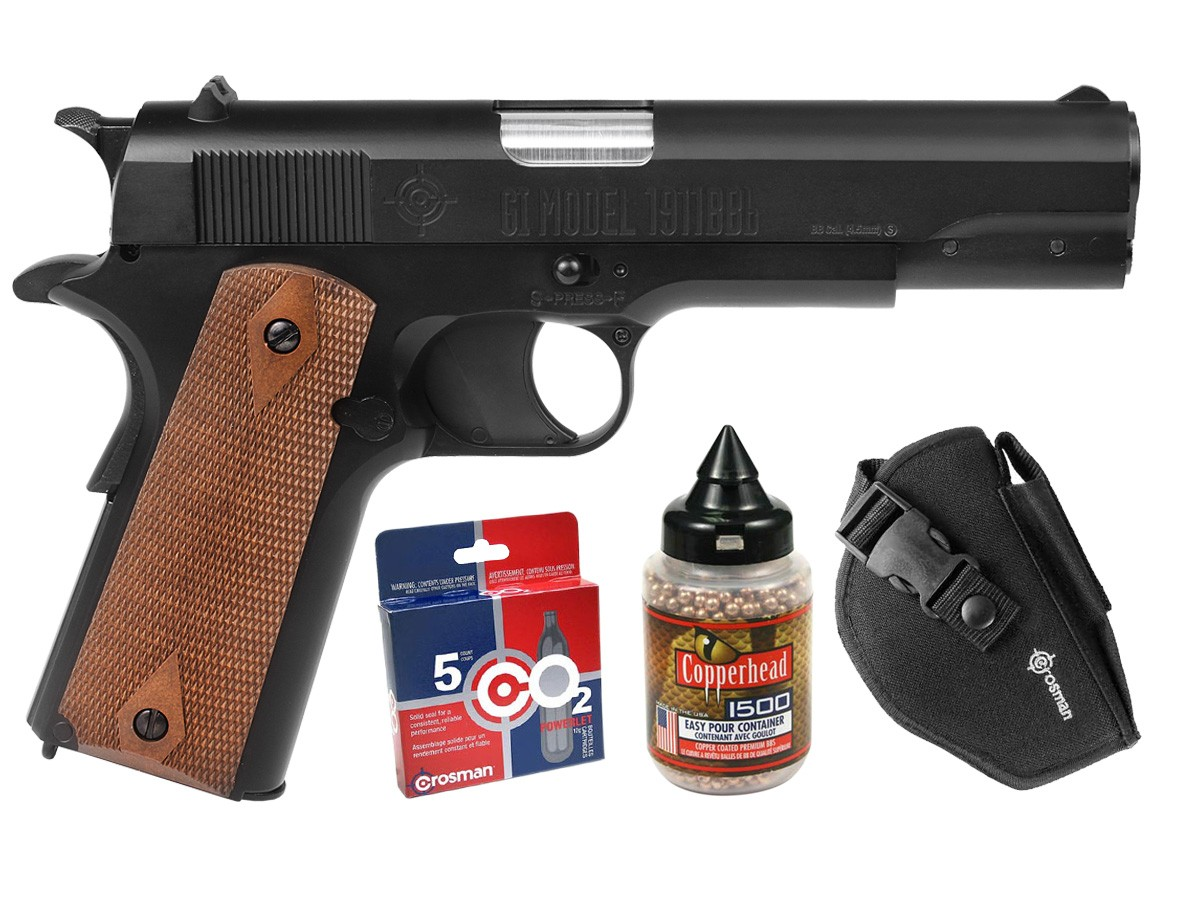 Crosman GI Model 1911 CO2 Blowback BB Pistol Kit