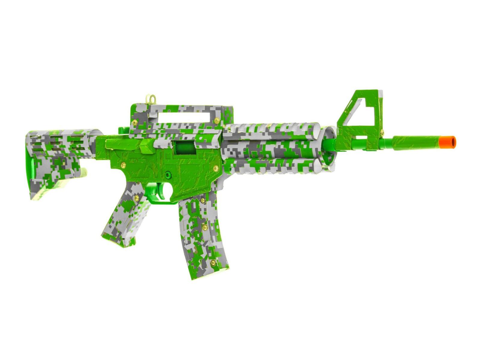 Paper Shooters Lime Green Spitball Blaster Kit