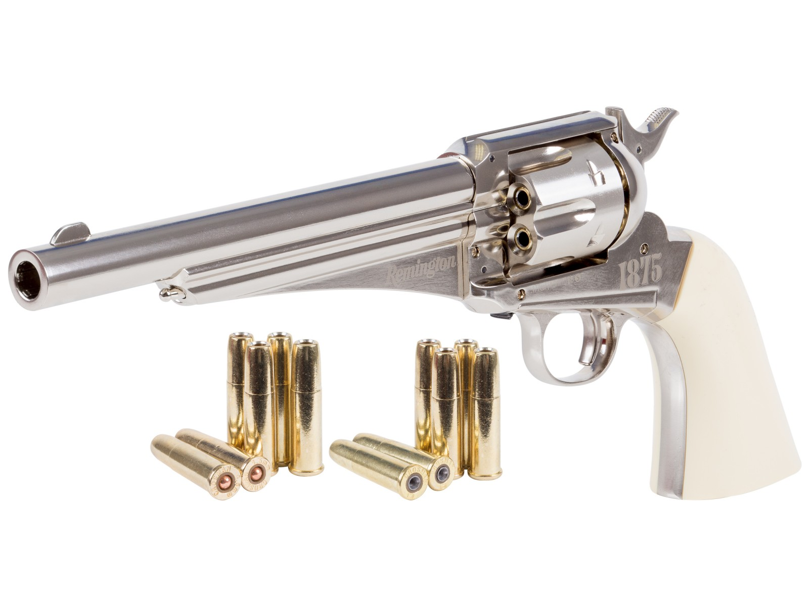 Remington 1875 CO2 Dual Ammo Replica Revolver 0.177 Image