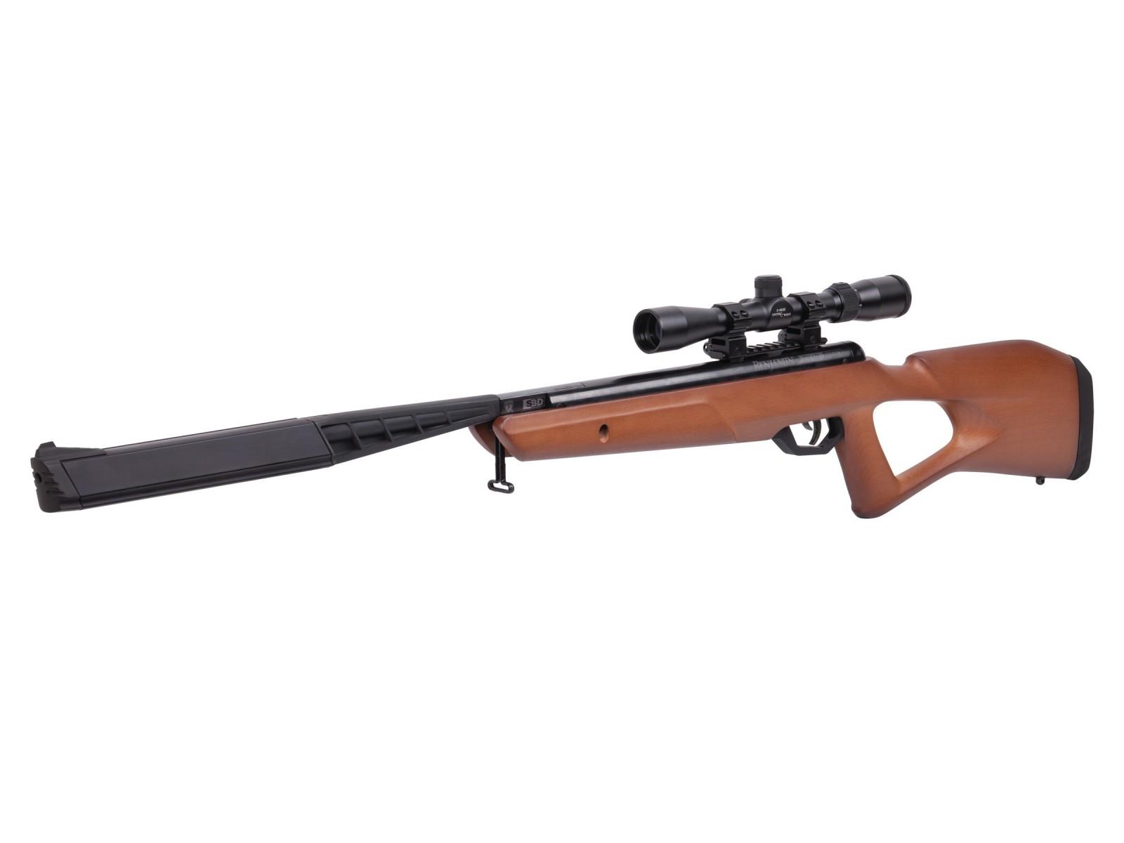 Cheap Benjamin Trail NP2 SBD Air Rifle, Wood Stock 0.22