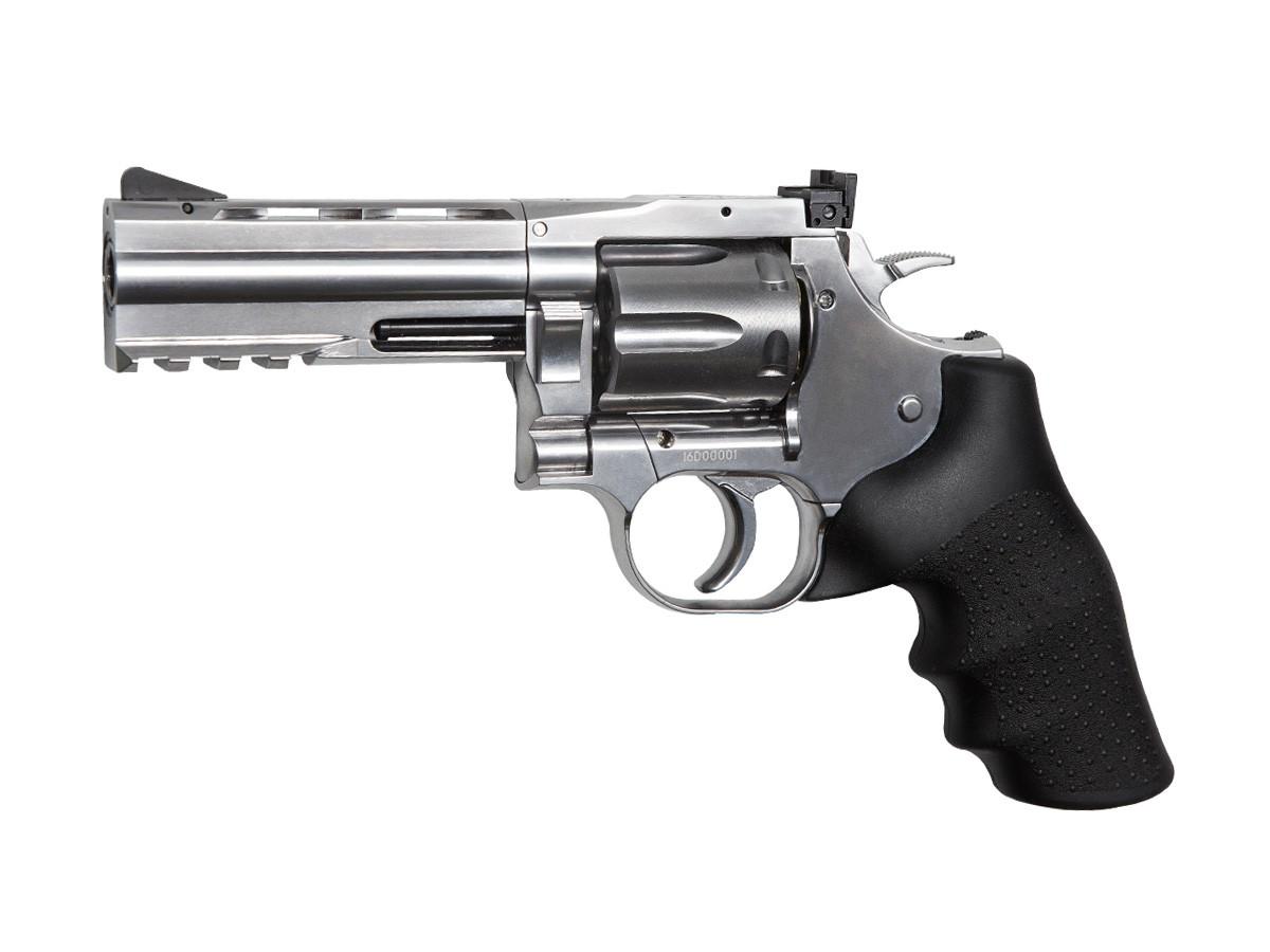 Dan Wesson 715 4 Pellet Revolver, Silver