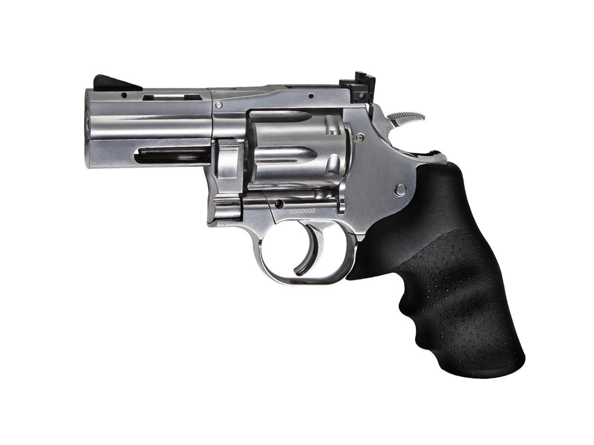 """Dan Wesson 715 2.5"""" CO2 BB Revolver, Silver 0.177 Image"""