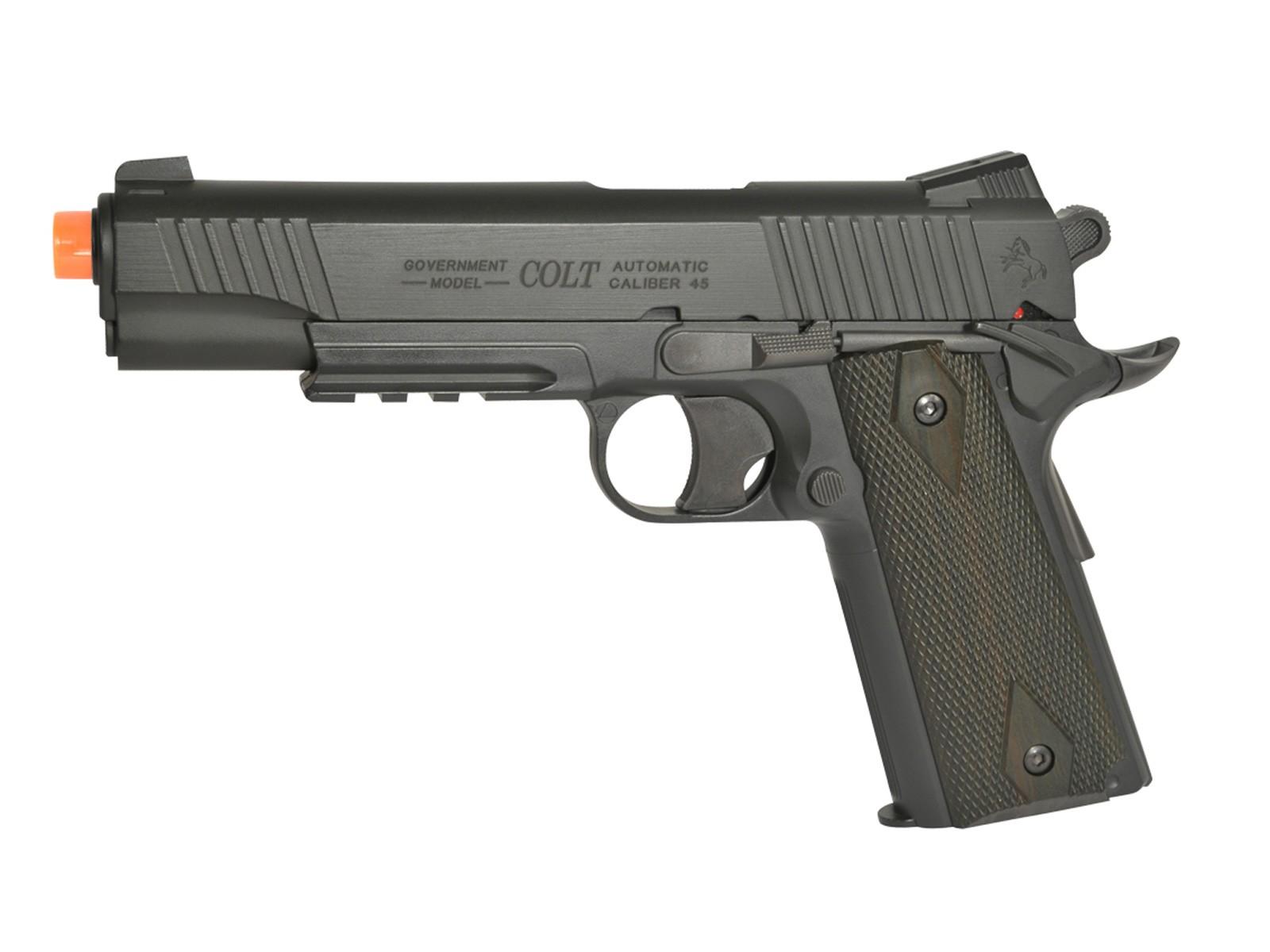 Colt 1911 Airsoft NBB Pistol, Black 6mm Image