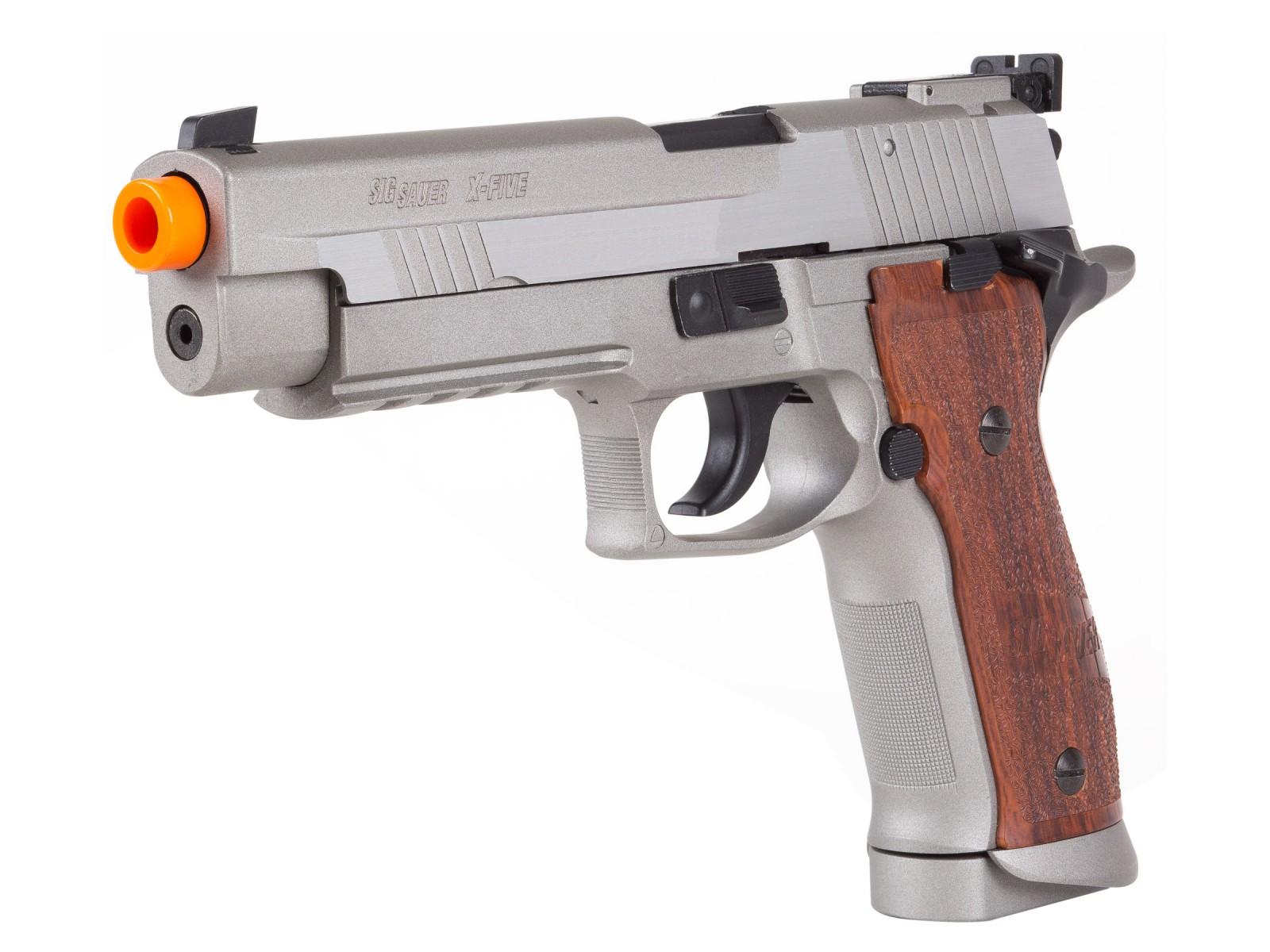 Cheap SIG Sauer P226 X-FIVE Metal Co2 GBB Airsoft Pistol, Silver 6mm