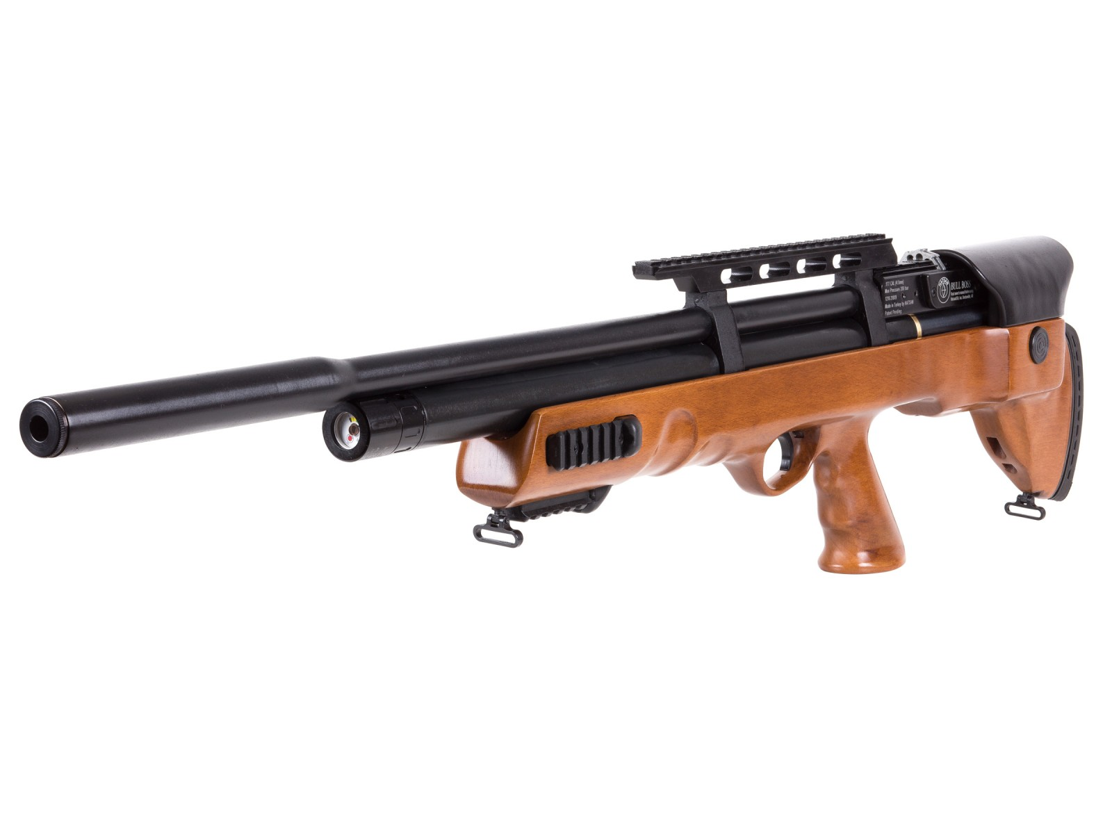 Hatsan BullBoss QE Air Rifle, Wood