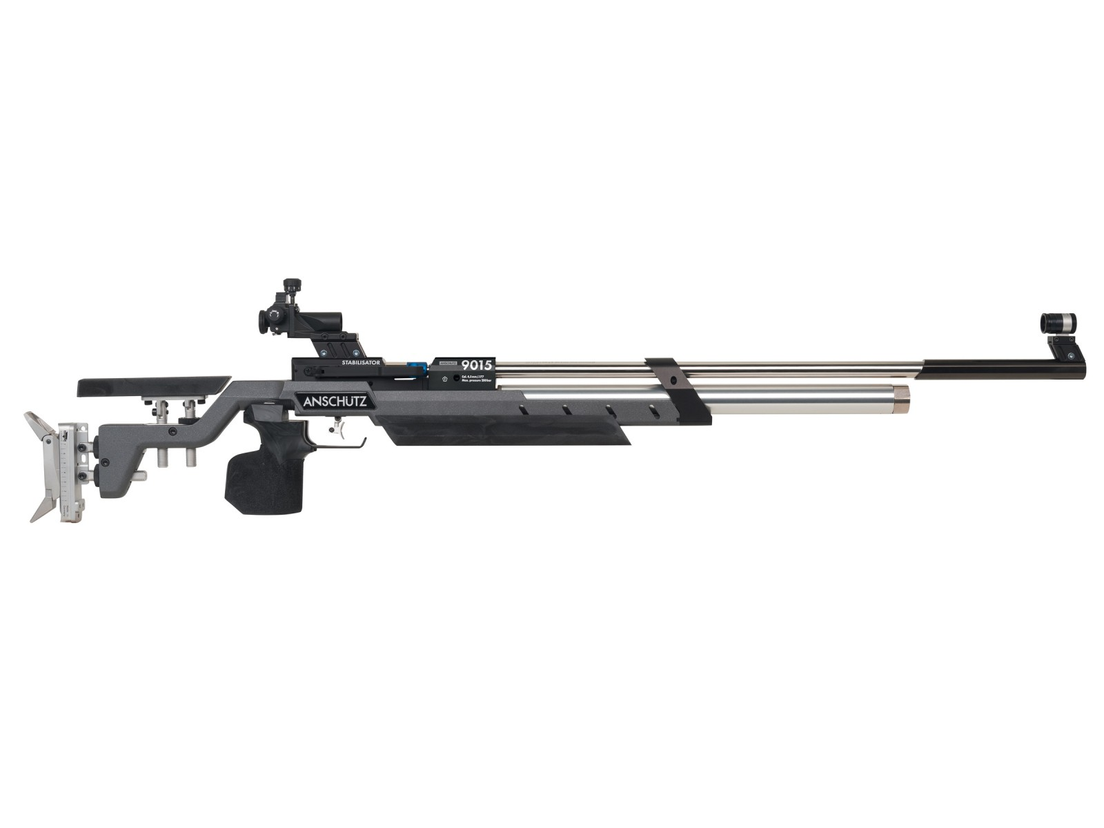 Anschutz 9015 Air Rifle  Aluminum Anthracite/Black