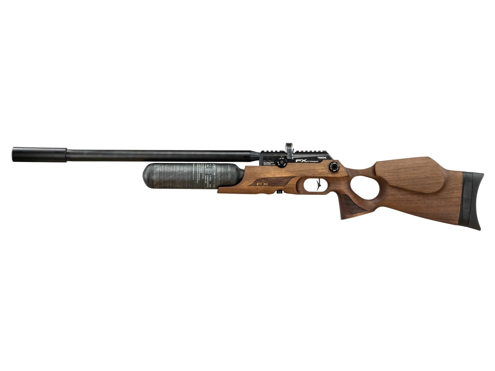 FX Crown PCP Air Rifle, Walnut Stock