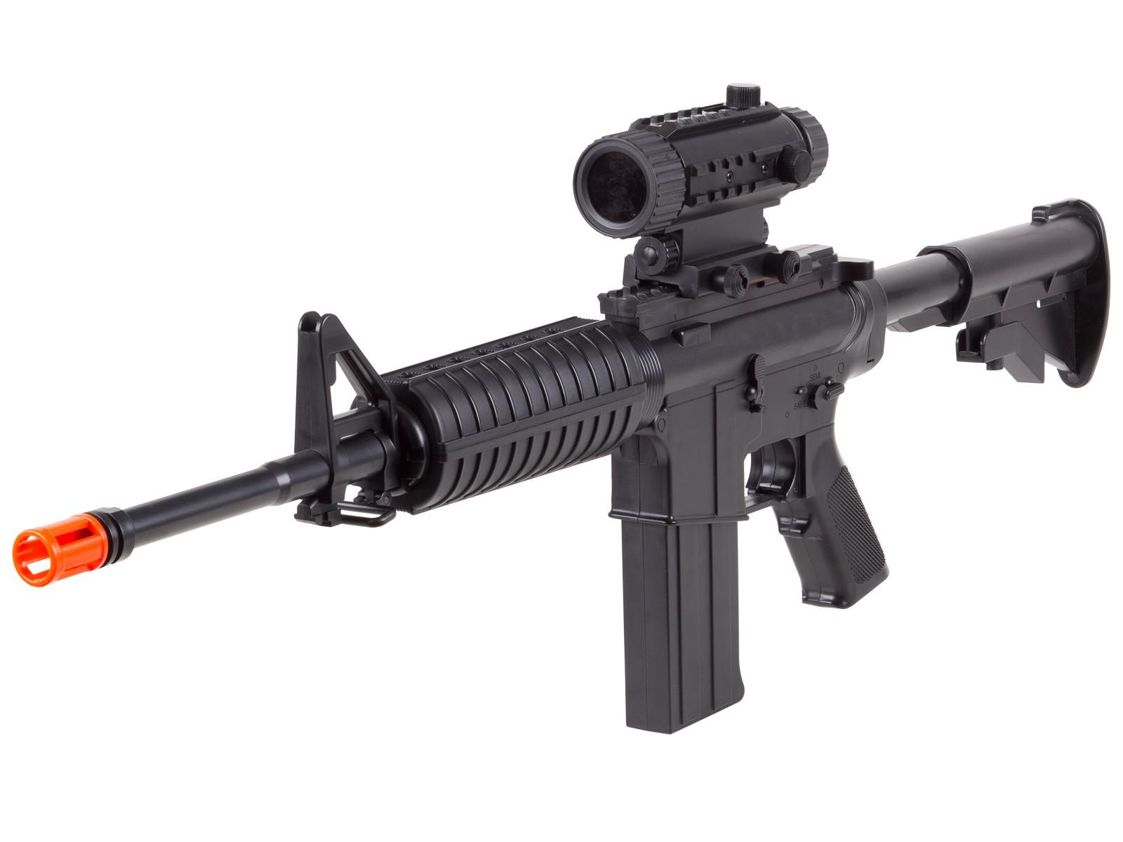 Firepower_M4_BOYS_Electric_Rifle_Black_6mm