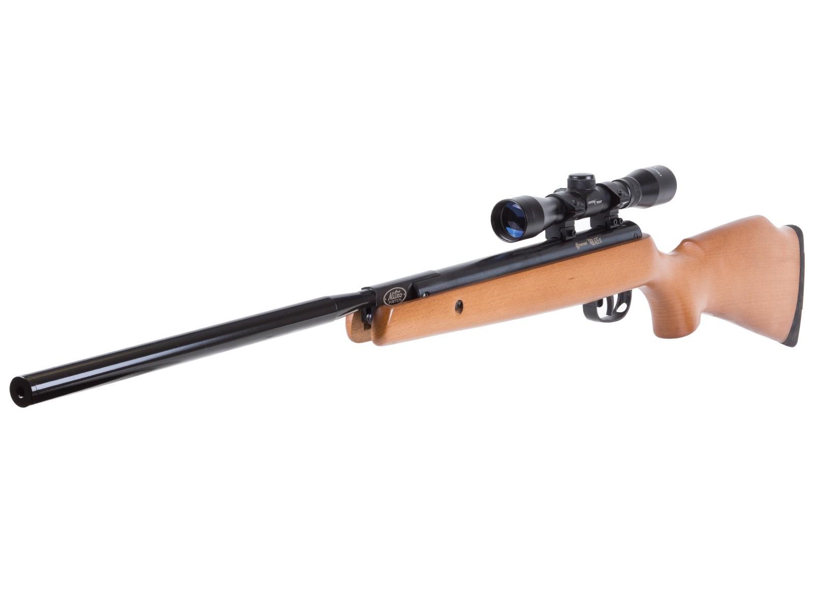 Wooden Pellet Rifles ~ Crosman blaze xt wood air rifle with scope