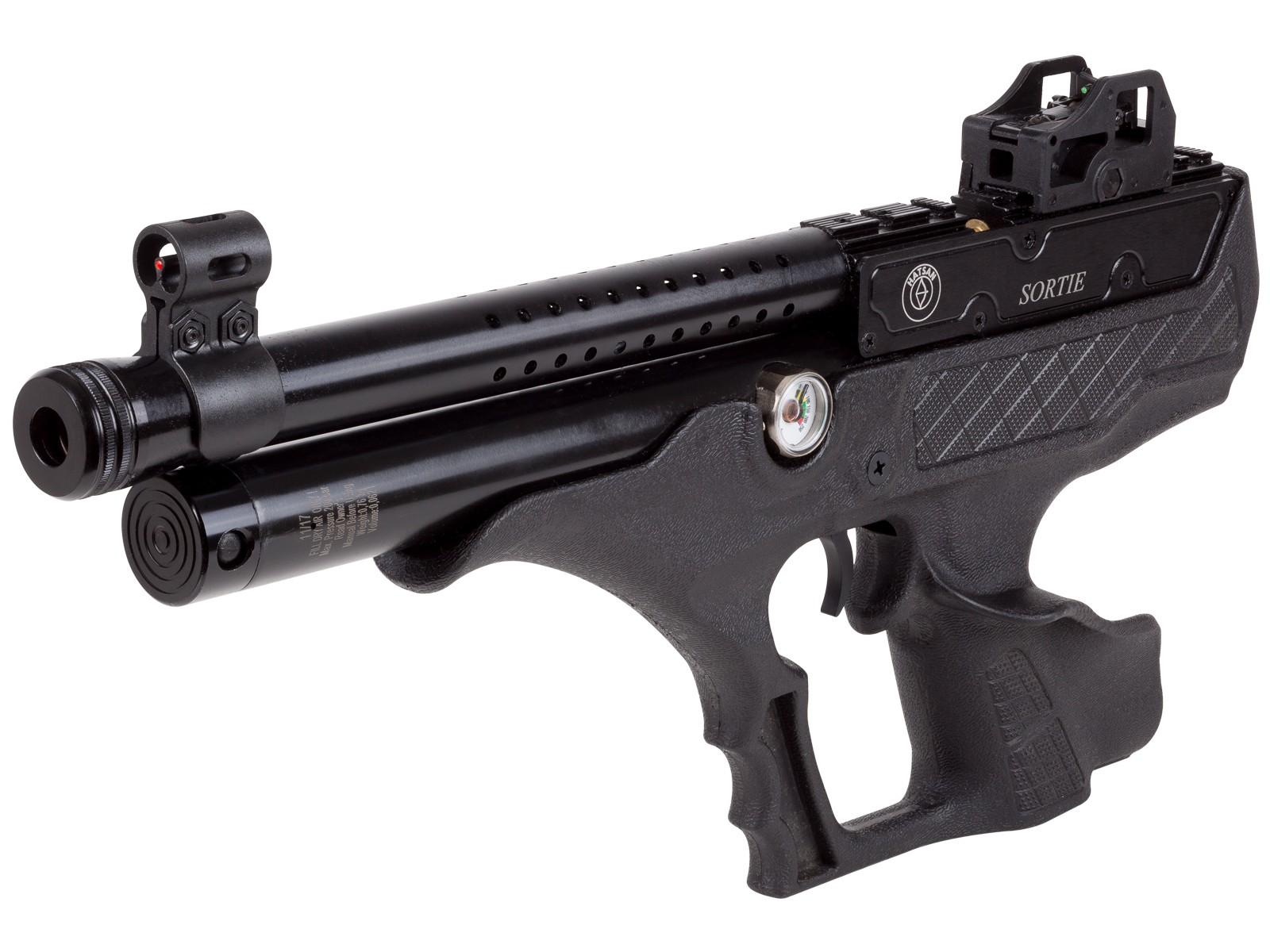 Hatsan Sortie Semi-Auto PCP Air Pistol, Synthetic 0.177 Image