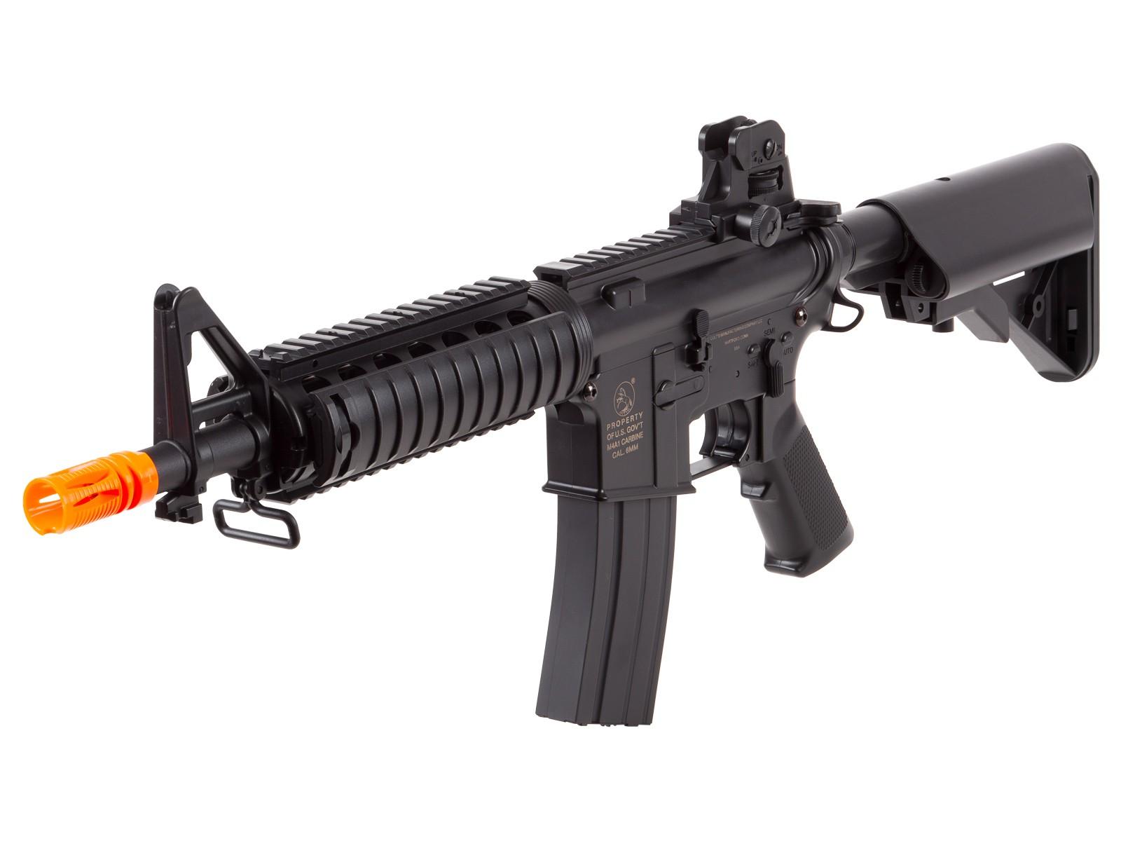 Colt M4 CQB-R Airsoft AEG, Black. Airsoft guns | Pyramyd Air