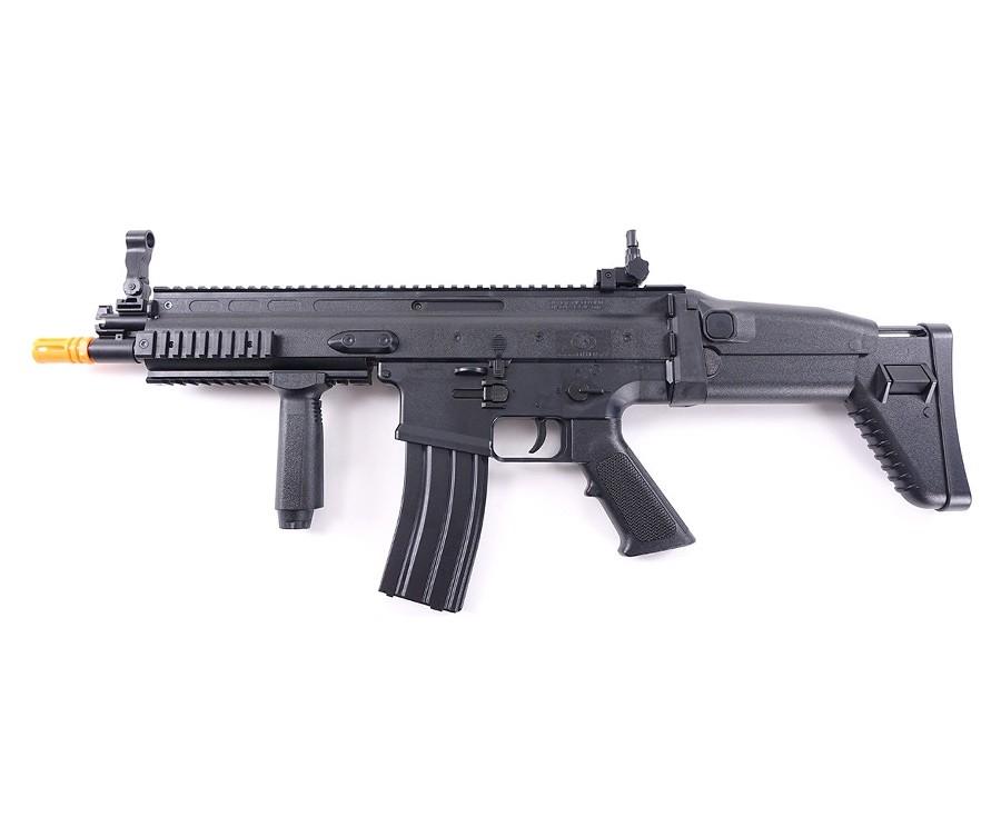 FN SCAR-L AEG Airsoft Rifle, Black