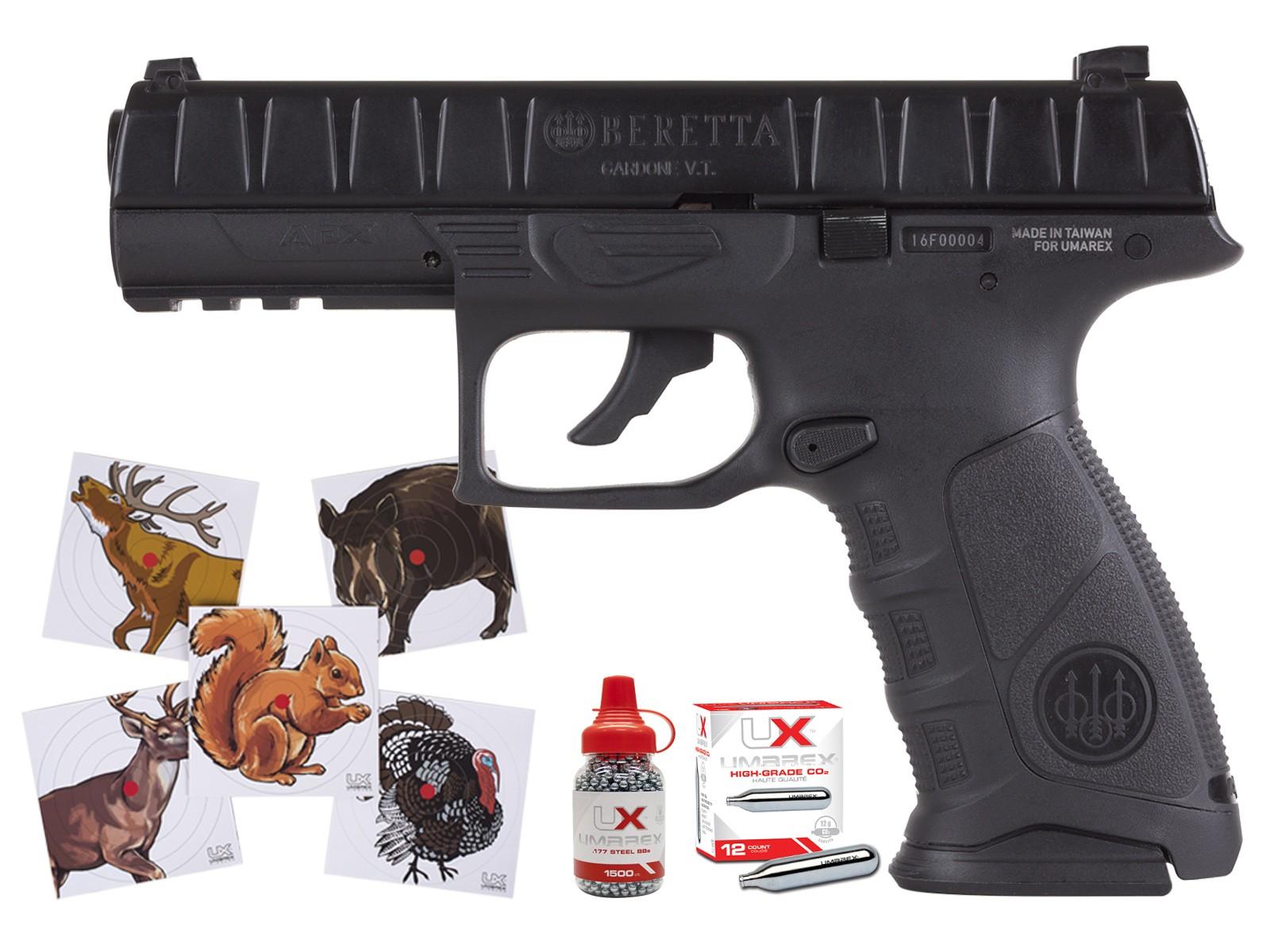 NEW Beretta APX Blowback 177 Cal BB Semi-Auto Hand Gun Air Pistol Gas CO2 Airgun