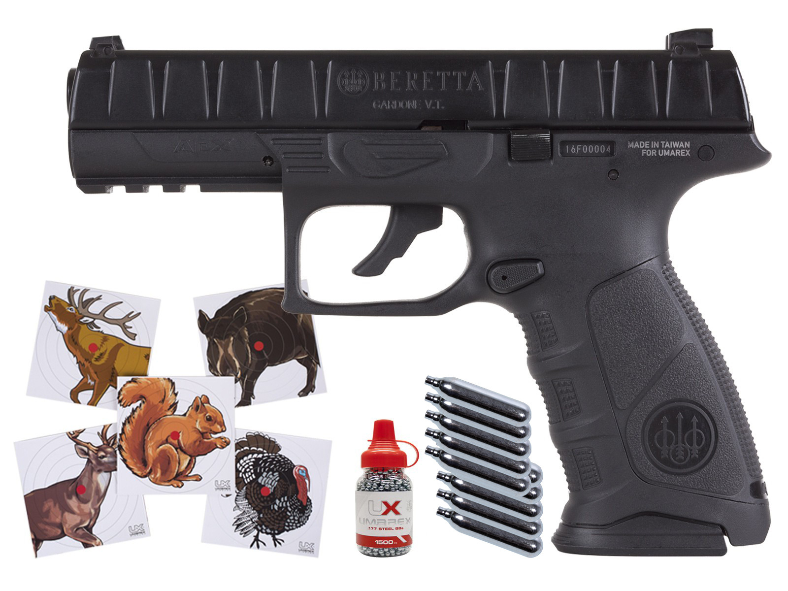 Beretta APX Blowback Air Pistol Combo 0.177