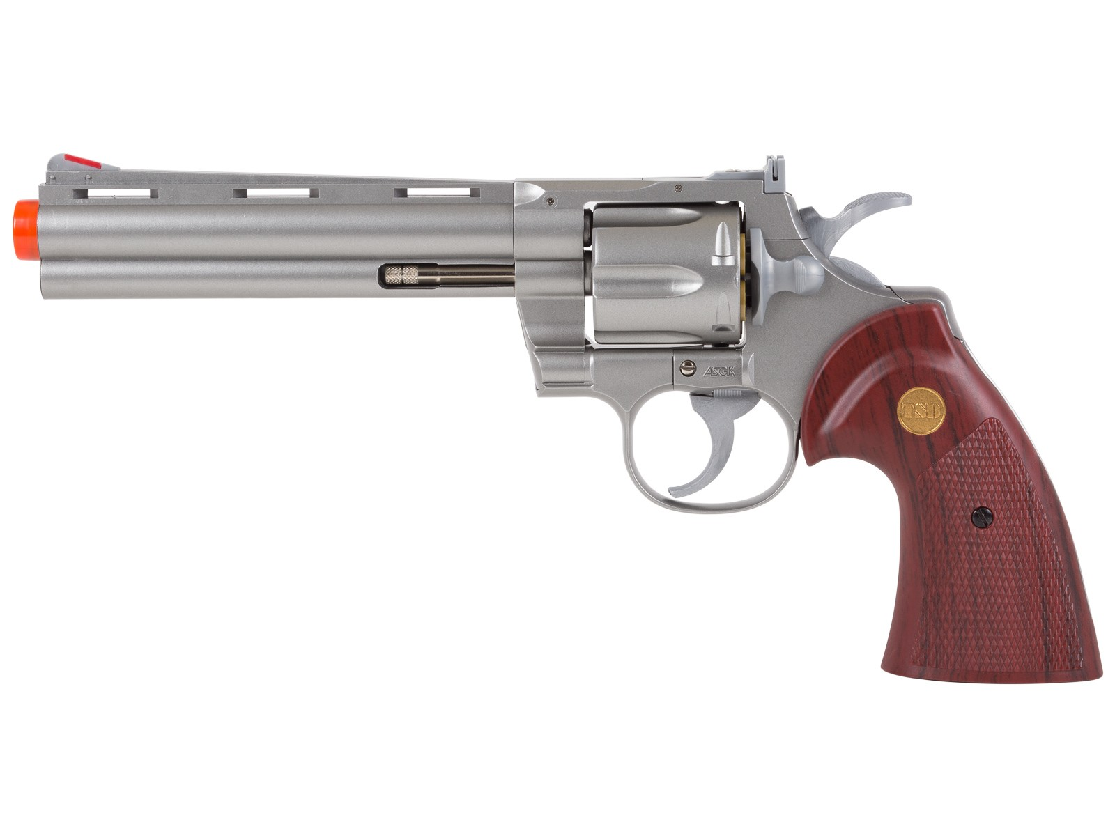 TSD Zombie Killer  357 Silver 6 Spring Revolver Spring Airsoft