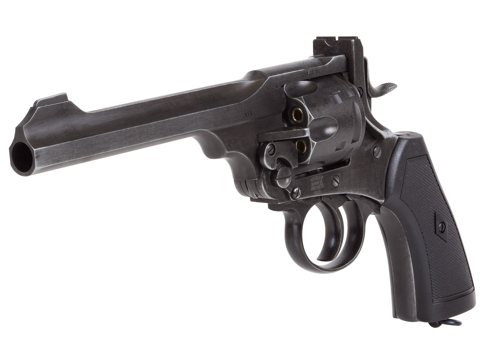 Webley MKVI CO2 Pellet Revolver, Battlefield Finish 0.177 Image
