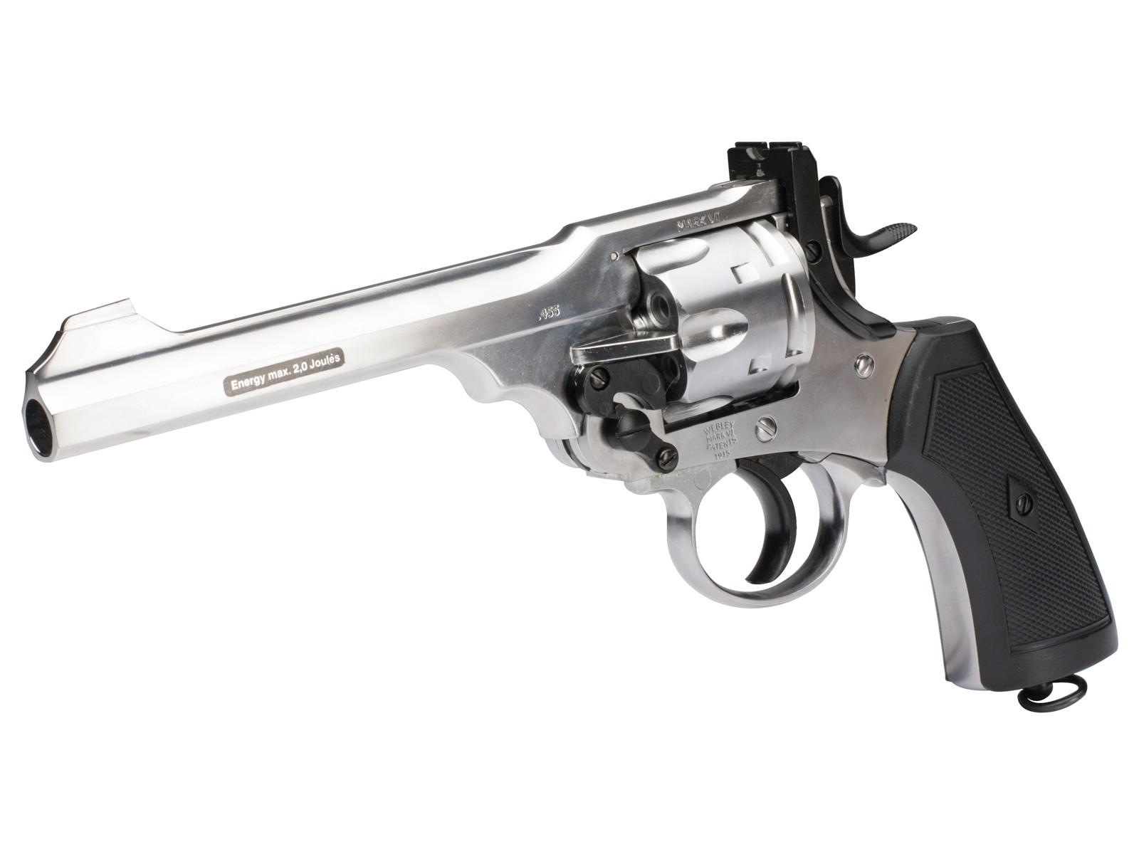 Webley MKVI Service Pellet CO2 Revolver Exhibition