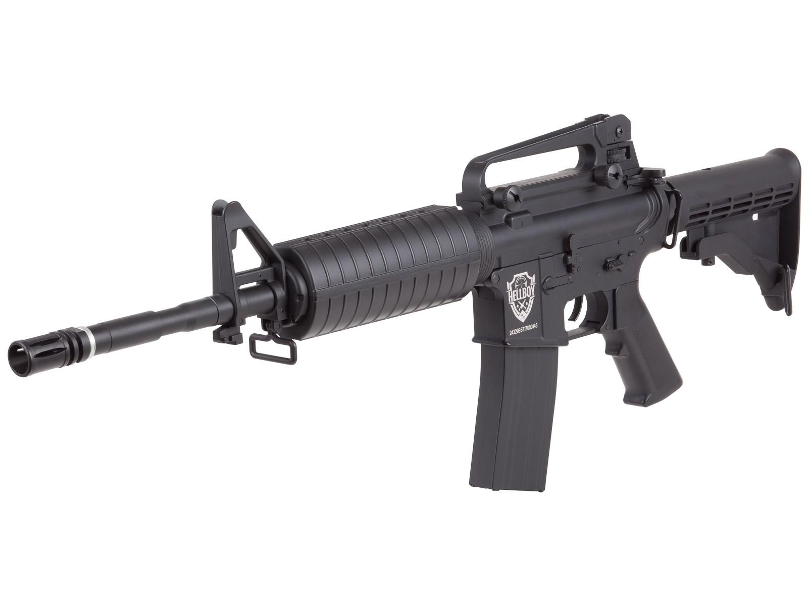 Cheap HellBoy .177 CO2 BB Tactical Air Rifle, Black 0.177