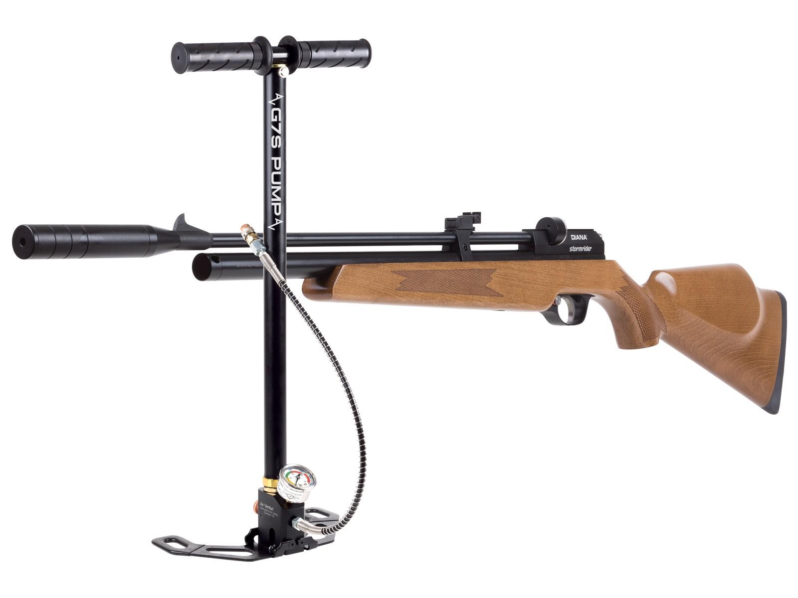 Diana Stormrider Multi-shot PCP Air Rifle and HPA Pump Kit 0.177 Image