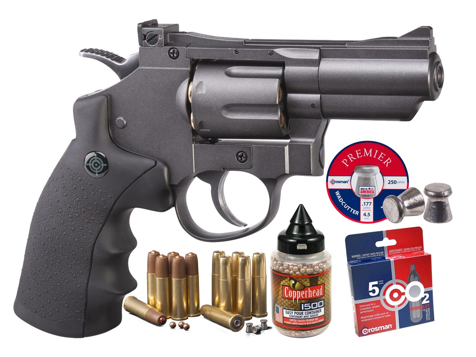 Crosman SNR357 CO2 Dual Ammo Full Metal Revolver Kit