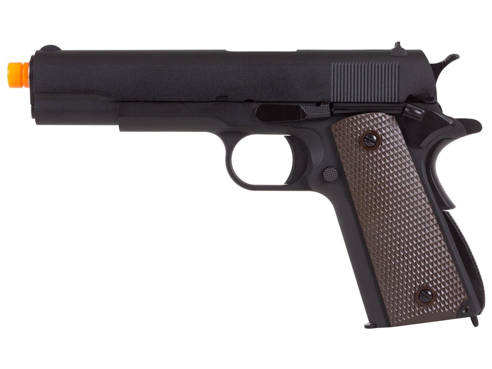 WE Full Metal 1911 Airsoft GBB Pistol