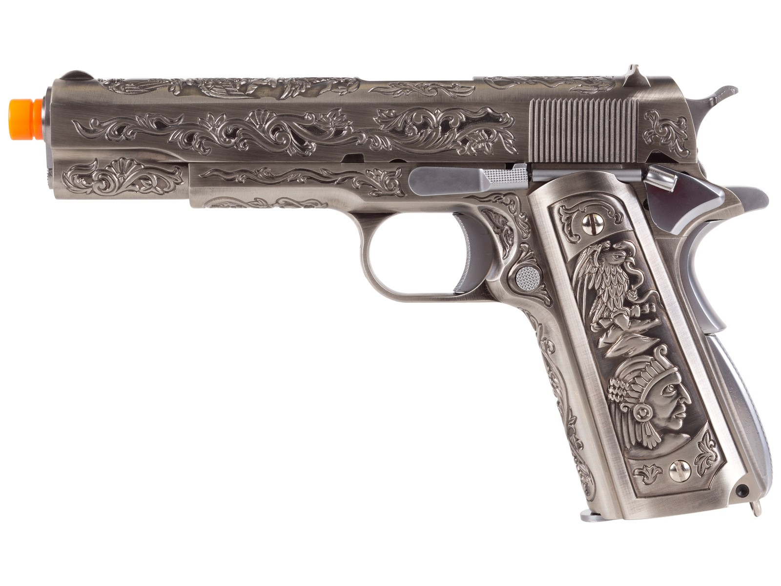 WE 1911 Silver.