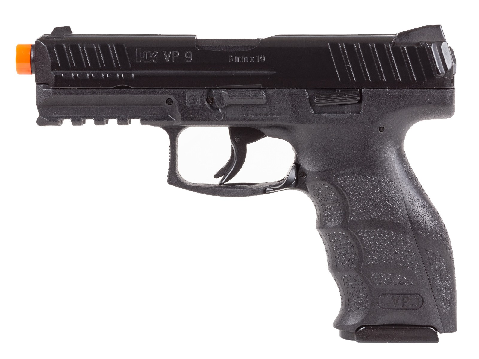 Cheap H&K VP9 Co2 Airsoft Blowback Pistol, Black 6mm