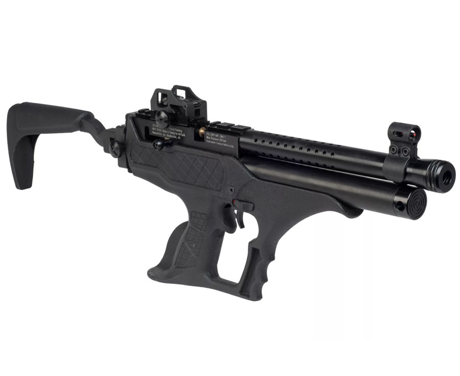 Cheap Hatsan Sortie Tact Semi-Auto PCP Air Pistol, Synthetic 0.177
