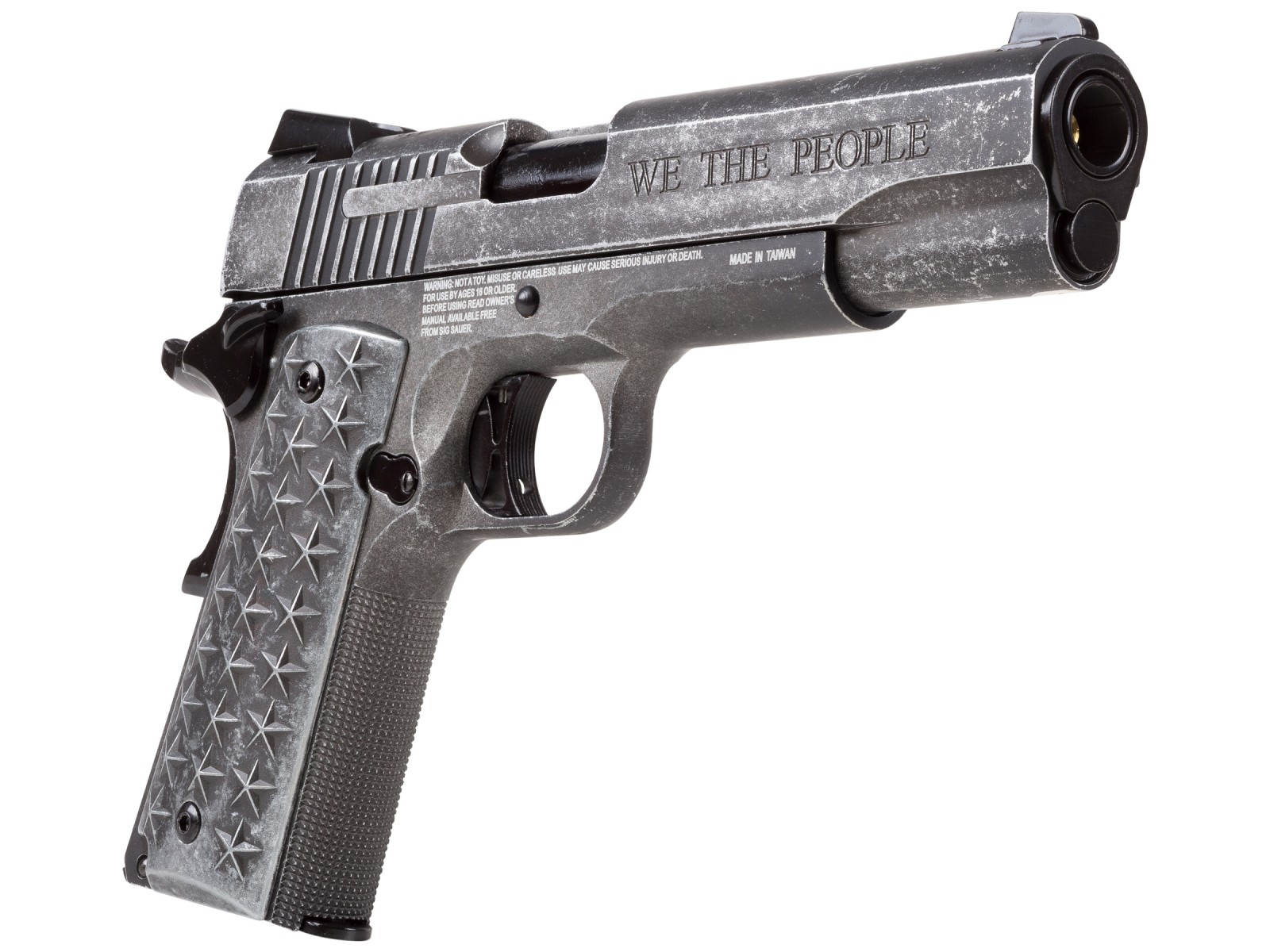 Cheap SIG Sauer 1911 We The People CO2 BB Pistol 0.177
