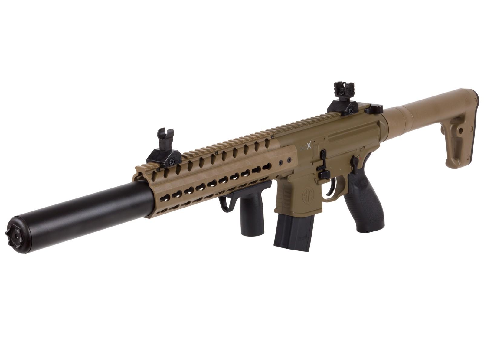 SIG Sauer MCX Pellet Rifle, Flat Dark Earth
