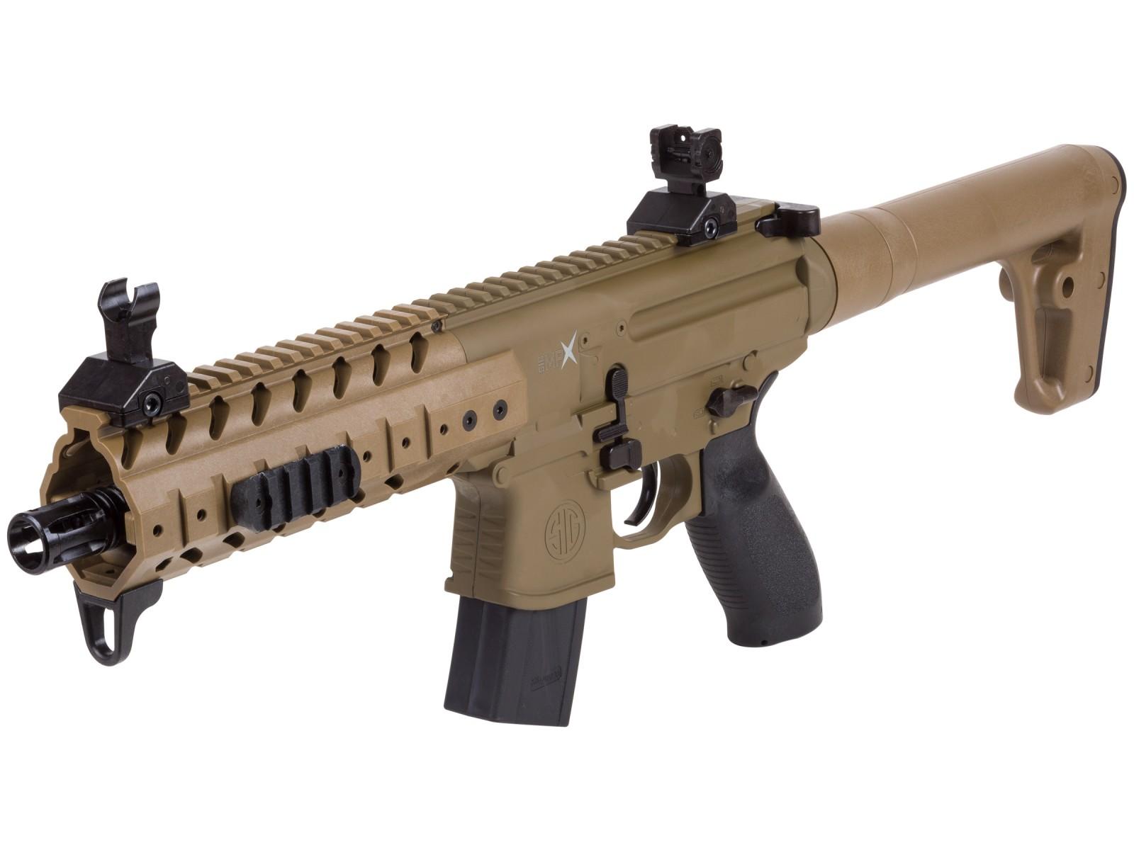 SIG Sauer MPX CO2 Pellet Rifle, Flat Dark Earth