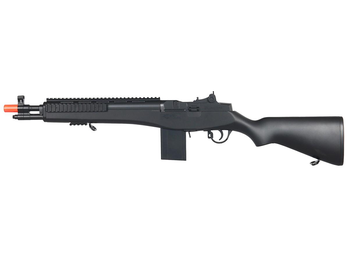 Double Eagle M305F M14 Spring Airsoft Rifle. Airsoft guns
