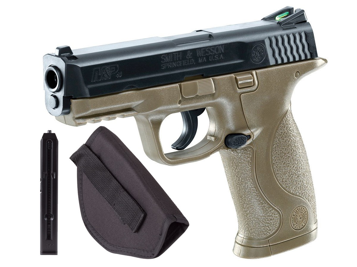Cheap Smith & Wesson M&P, Dark Earth Brown Kit 0.177