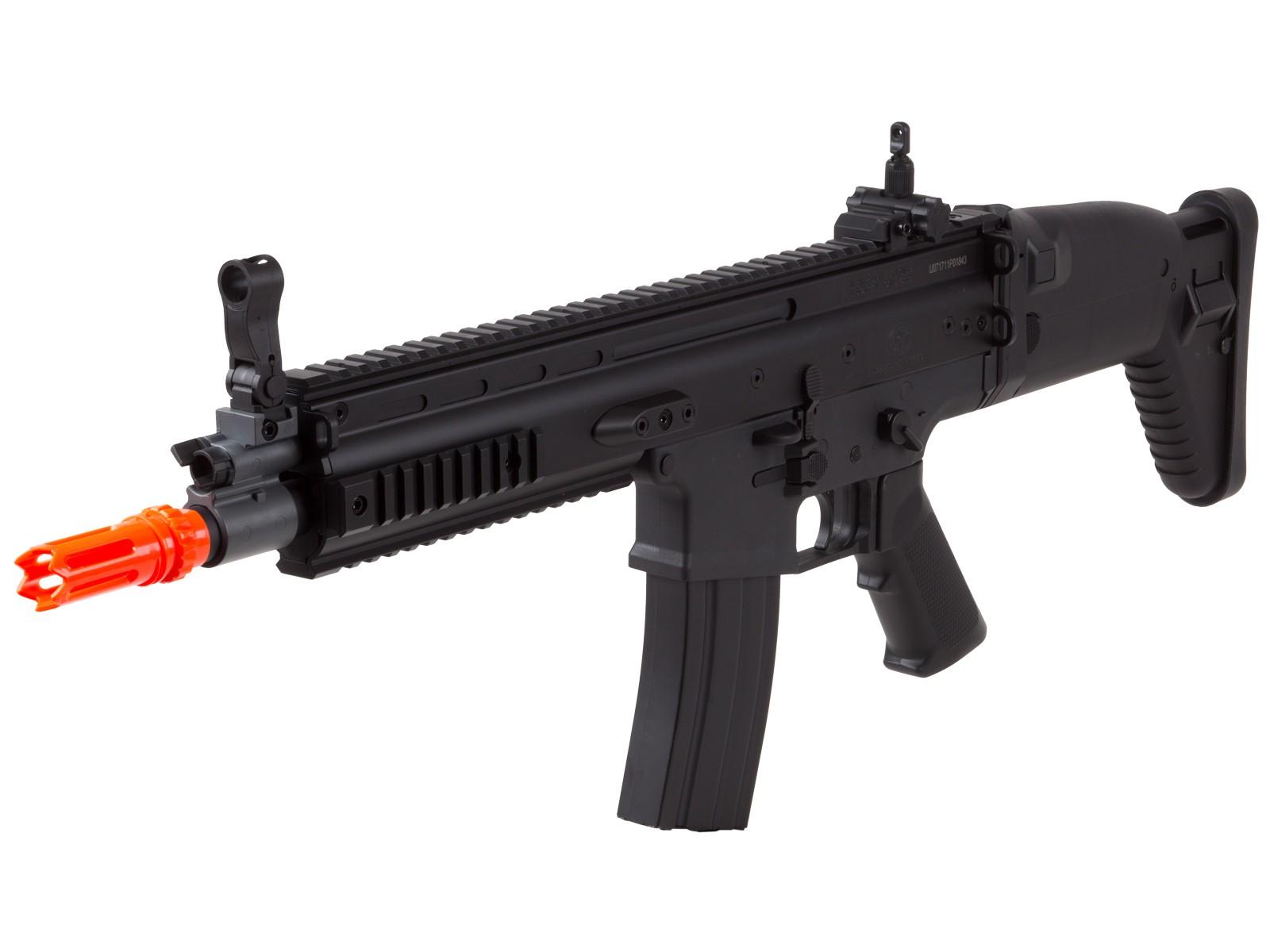FN_SCARL_AEG_Airsoft_Rifle_Black_6mm