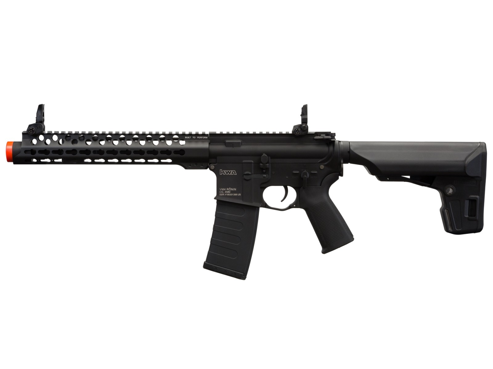 KWA VM4 Ronin 10 SBR AEG 2.5 Airsoft Rifle 6mm Image