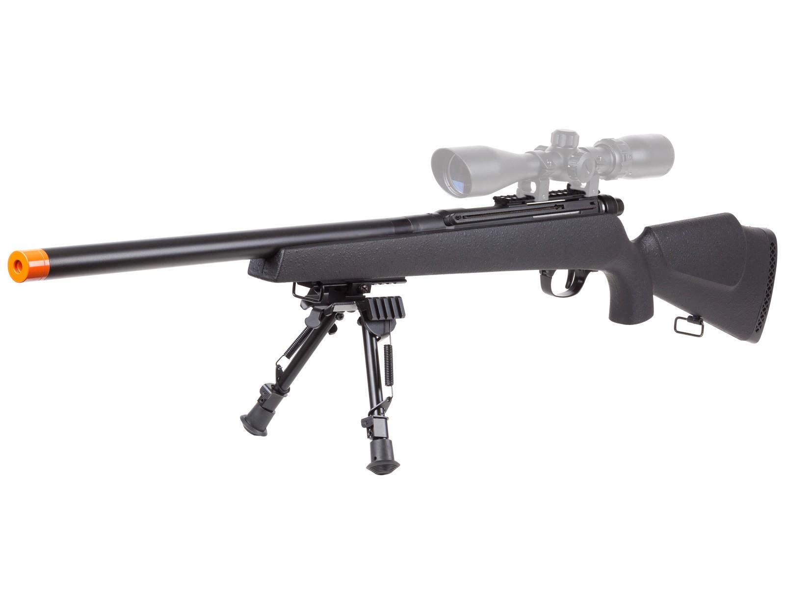 TSD_UHC_Super_X9_Double_Bolt_Airsoft_Rifle_Stick_Mag_6mm