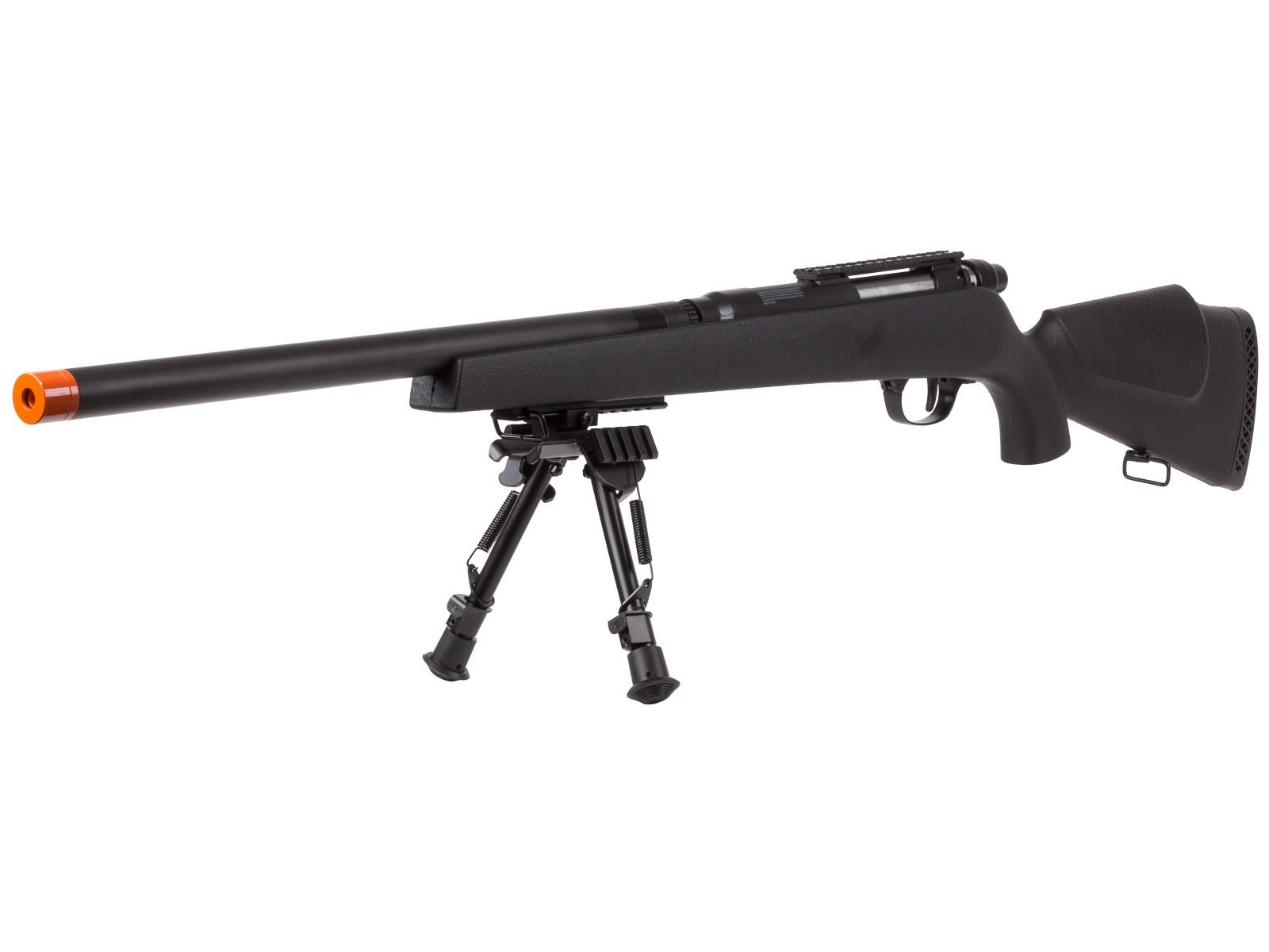 TSD_UHC_Super_X9_Double_Bolt_Airsoft_Rifle_Black_Box_Mag_6mm